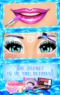 Ice Princess Makeup 2