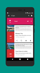 Clipboard Manager : Clipo Pro 8.10 [Pro Unlocked] MOD Apk 3