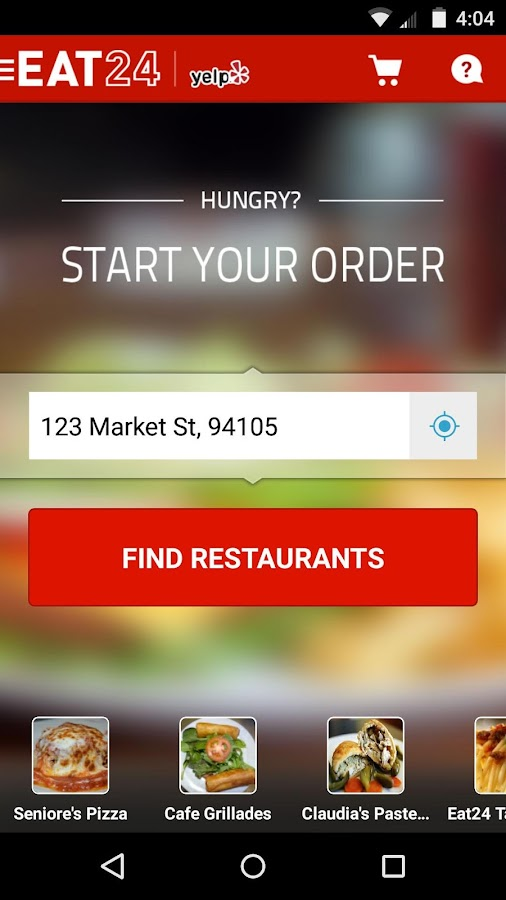 Eat24 Food Delivery & Takeout- screenshot
