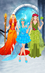 Element Princess dress up game 1