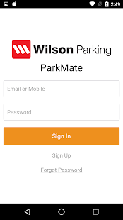Wilson ParkMate- screenshot thumbnail