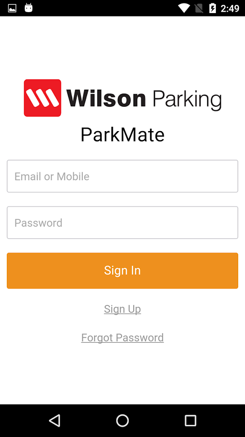 Wilson ParkMate- screenshot