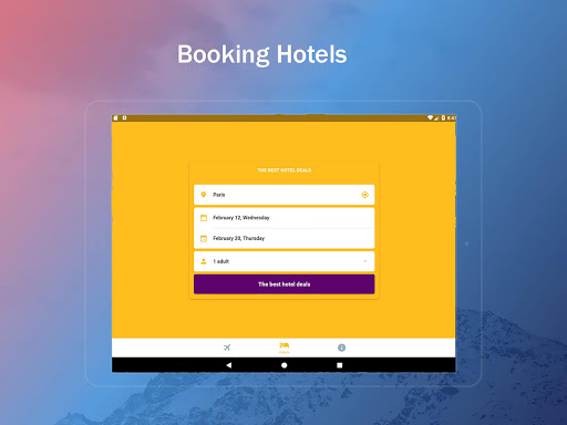 Airline Ticket Booking app screenshot 14