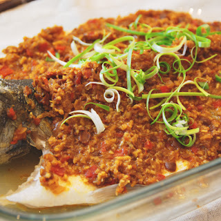 Steamed Fish with Fermented Bean Paste.