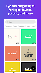 Canva: Graphic Design & Logo, Poster, Video Maker APK screenshot thumbnail 4
