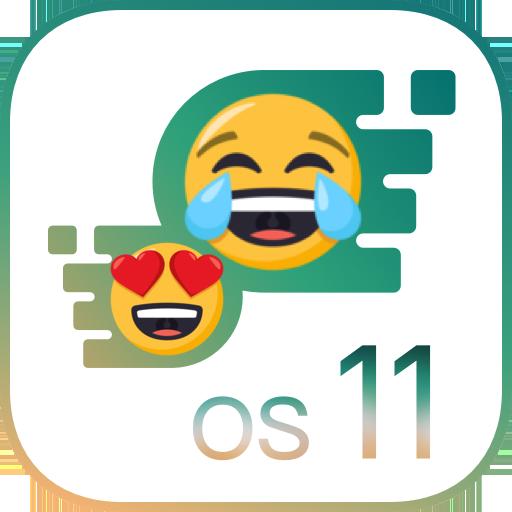 OS11 Emoji Keyboard for Phone 8