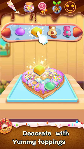 ud83cudf69ud83cudf69Make Donut - Interesting Cooking Game apkpoly screenshots 16
