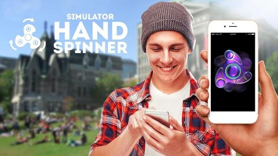 Hand spinner simulátor - náhled