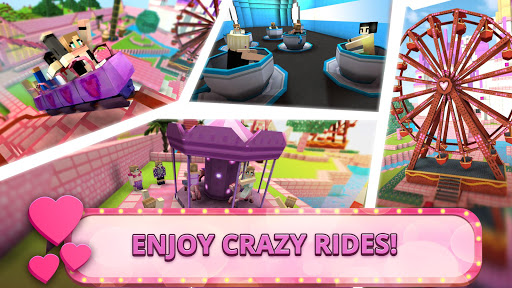 Girls Theme Park Craft: Water Slide Fun Park Games - screenshot