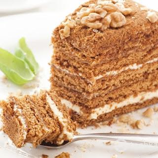 New Year's Honey Cake (Medovyk)