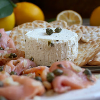 Ketie's Smoked Salmon and Goat Cheese Appetizers.