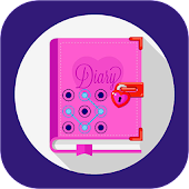 diary with a fingerprint lock