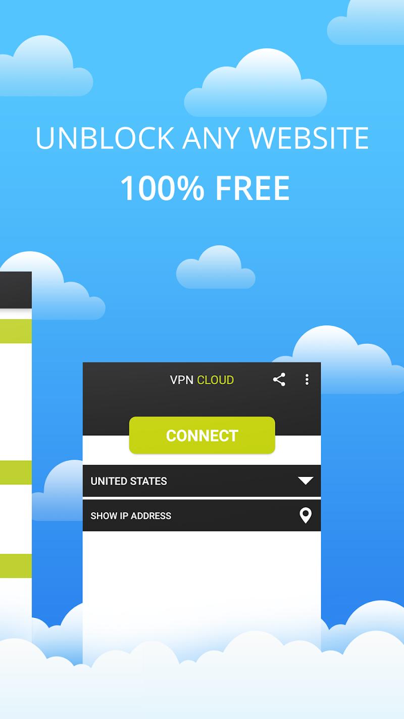 VPN Cloud Screenshot 1
