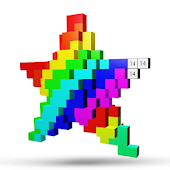 Color by Number 3D-Pixel Art Unicorn Coloring Book