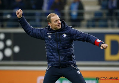 """Le coach de Gand Thorup a motivé ses joueurs d'une façon particulière : """"Je l'ai accroché dans le vestiaire"""""""