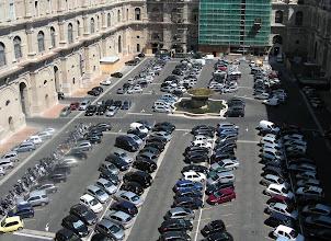 Photo: 022 Vatikaanin museon sisäpihalta.