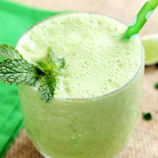 Minty Limeade Smoothie.