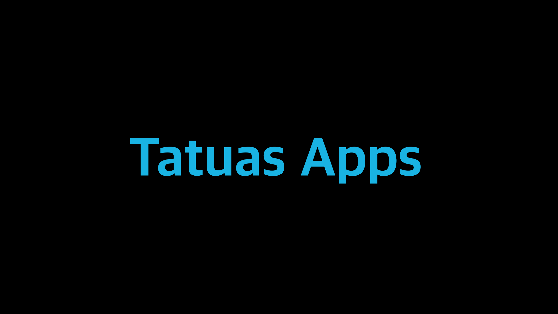 Tatuas Apps
