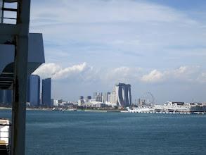 Photo: Singapore - Marina Bay Cruise Terminal and SkyPark