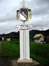 Photo: Erb mesta Tvrdošín pred vstupom do nášho mesta.
