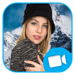 Live Mountain Photo Effect Video Maker Icon