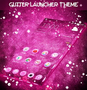 Glitter Launcher Theme- screenshot thumbnail