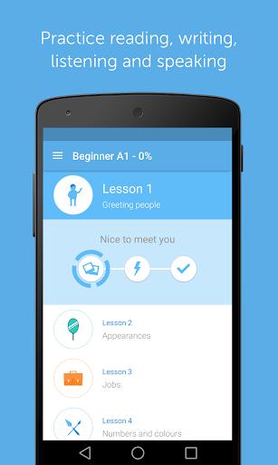 Learn to speak English with busuu 13.1.0b.15 screenshots 3
