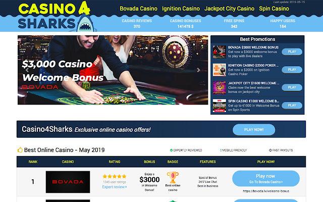 Casino4Sharks - Best online Casino
