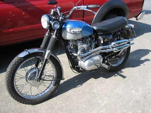 Triumph T 100 Scrambler de 1967