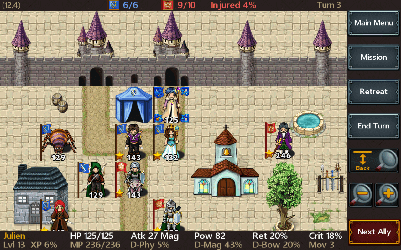 Tactics Maiden RPG- screenshot