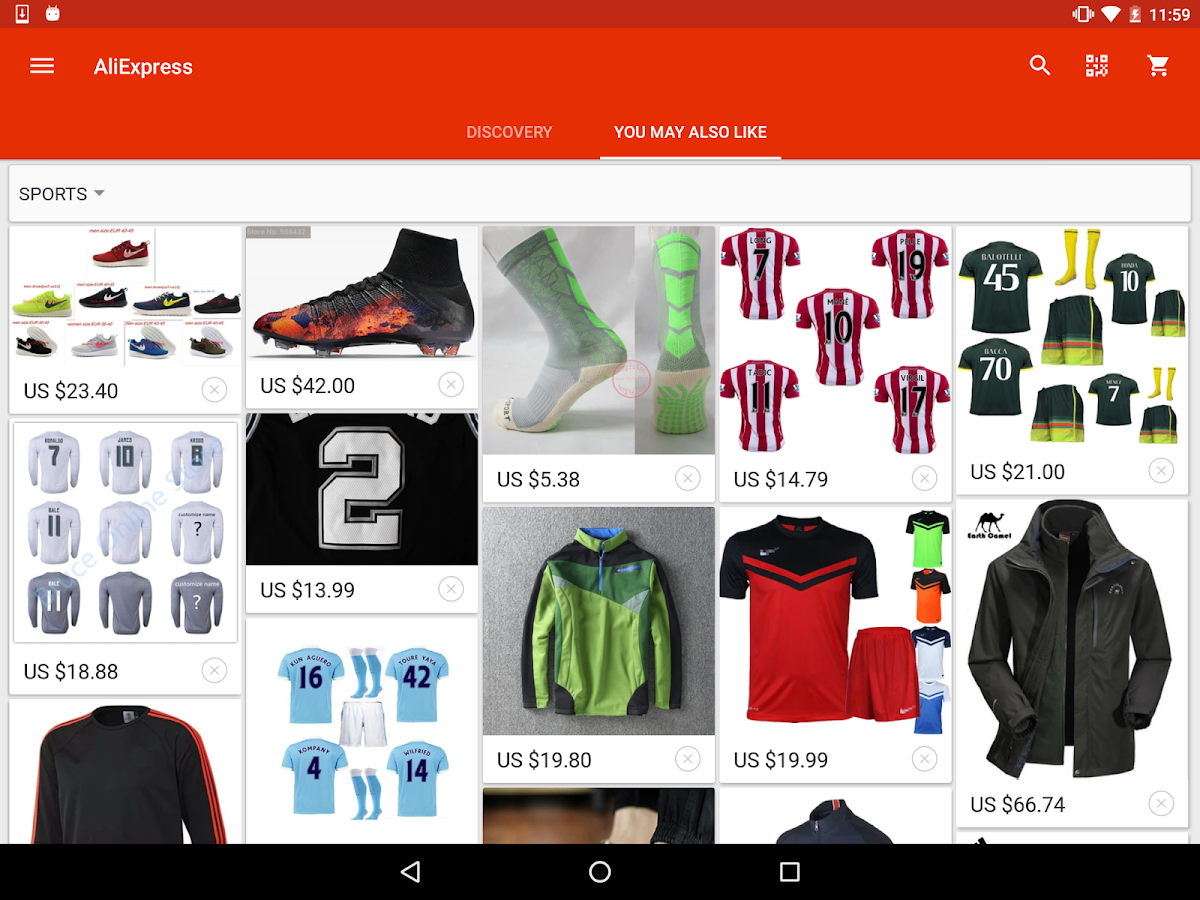 AliExpress Shopping App 5.0.0 Android APK Free Download