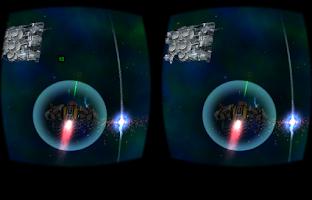 Screenshot of Cardboard 3D VR Space FPS game