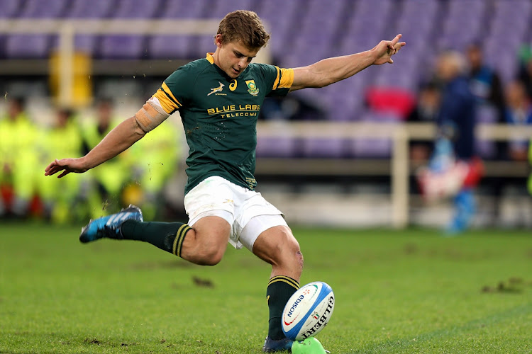 A file photo of former Springboks flyhalf Pat Lambie in action during the 2016 Castle Lager Outgoing Tour match between Italy and South Africa at Stadio Olimpico.