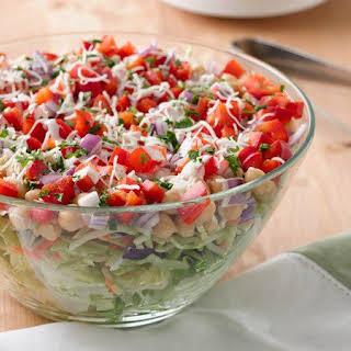Italian Layered Salad.