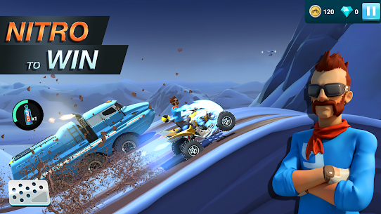 MMX Hill Dash 2 – Offroad Truck, Car & Bike Racing (MOD, Unlimited Gas/ Free Purchase) v9.00.12012 3