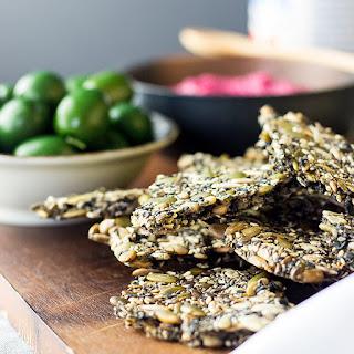 Homemade Seed Crackers Recipes