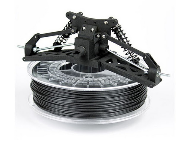 ColorFabb Black XT-CF20 Carbon Fiber Filament - 2.85mm (0.75kg)
