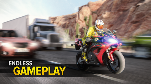 Highway Rider Motorcycle Racer 2.0.1 screenshots 2