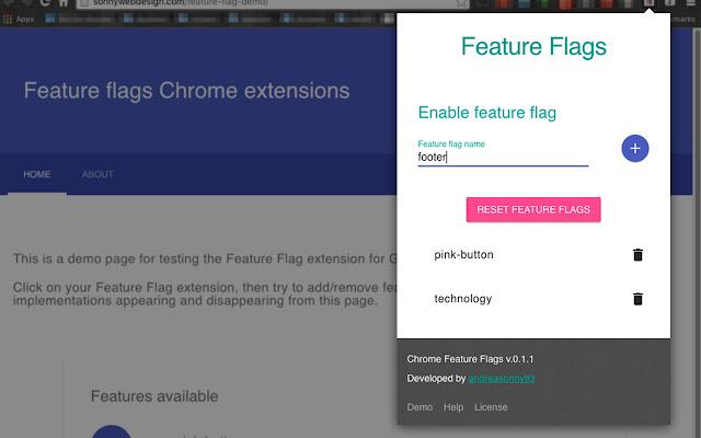 chrome-feature-flag