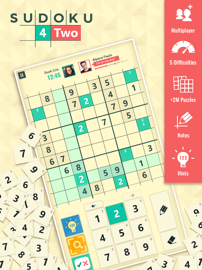 sudoku multiplayer app