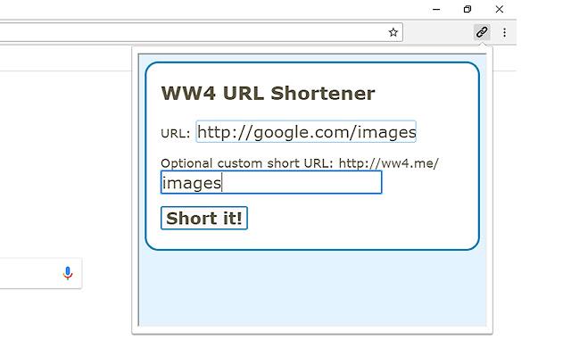 WW4 URL Shortener