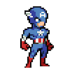 Color Pixel - Super Heroes