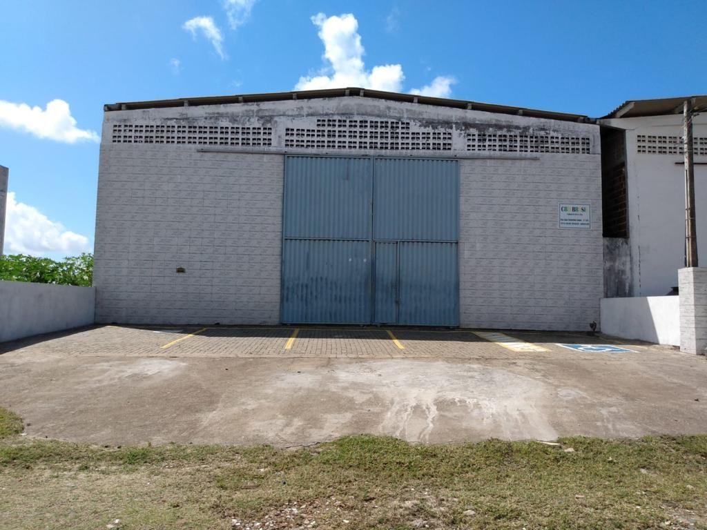 Galpão para alugar, 375 m² por R$ 3.200,00/ano - Renascer - Cabedelo/PB