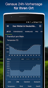 The Weather in Germany: Radar, weather warnings APK image thumbnail 2