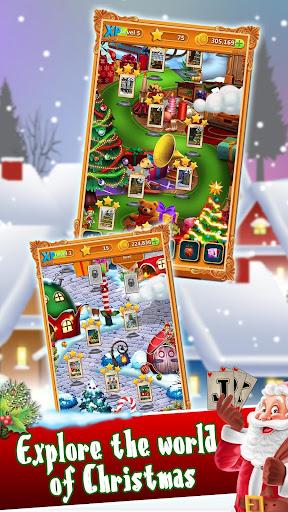 Christmas Solitaire: Santa's Winter Wonderland filehippodl screenshot 5