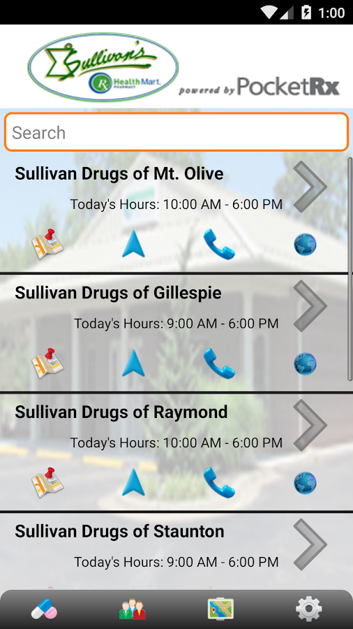 Sullivan's Drugs- screenshot