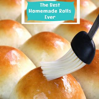 The Best Homemade Dinner Rolls Ever!.