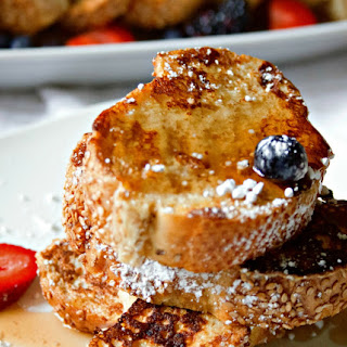 Easy Skinny French Toast.