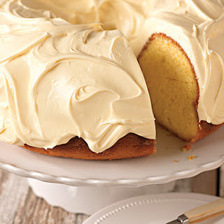 Luscious Lemon Pound Cake.