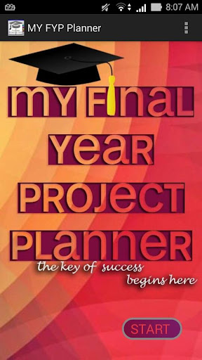 My Final Year Project Planner